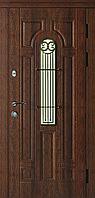 Дверь входная COTTAGE Лучия Дуб бронзовый уличная комплектация Эталон