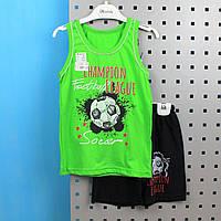 Комплект мальчик Илья борцовка+шорты размер 64,68, фото 1