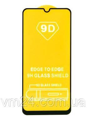 Защитное Стекло Черное для Xiaomi Redmi Note 8PRO  Full Glue (С полным клеем)