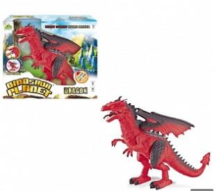 Динозавр RS6153 33 см, звук, світло