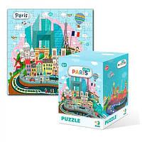 Игрушка Пазл Города Париж (11*16,5*11см) DoDo
