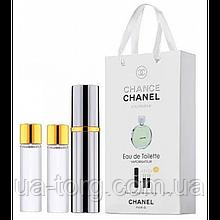Парфюмерная вода для женщин Chanel Chance Eau Fraiche, 3x15 мл