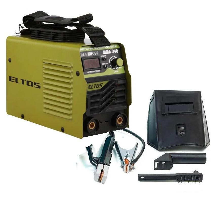 Сварочный аппарат Eltos MMA-340 (340 А, Дисплей). Сварочный аппарат Элтос