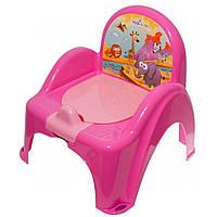 Горшок-стульчик Tega Safari SF-010 dark pink