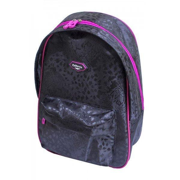 Рюкзак California Light, Леопард (чорний), 40*26*12,5 см