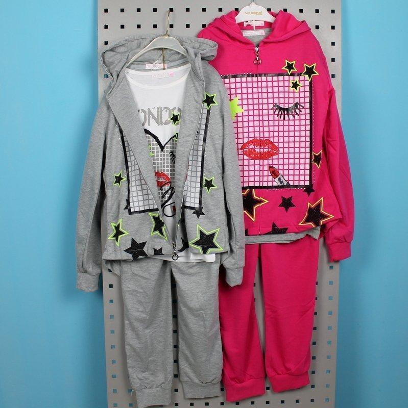 Спортивный утепленный костюм для девочки тм Cross Fire размер 164 см