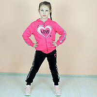 Спортивный костюм 3-ка девочка Венгрия  размер 134,140,164 см