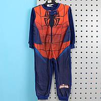 Спальник для мальчика пижама с начесом Человек паук тм Marvel размер 104 см, фото 1