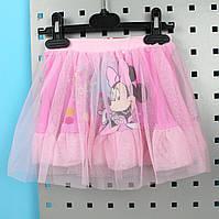 Детская юбка для девочки Минни фатиновая тм Fashion Girls размер 3,4,5,6,8 лет
