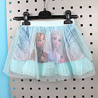 Детская Юбка для девочки Фрозен Disney размер 3,4,5,6,7,8 лет