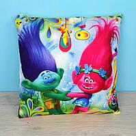 Подушка детская декоративная Тролли
