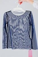 Гольф сеточка Ванесса цвет синий тм Suzie   размер 128,134,140