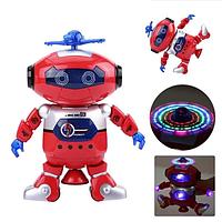 Интерактивная игрушка робот танцующий светящийся детский Dance 99444-3 (Красный)