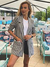 Пиджак женский модный стильный размер 42-48, купить оптом со склада 7км Одесса