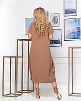 Платье Картиньи - 1 (визон) 0801204, фото 3