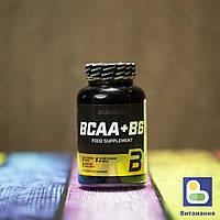 BCAA, BCAA+B6, Biotech 100 таблеток
