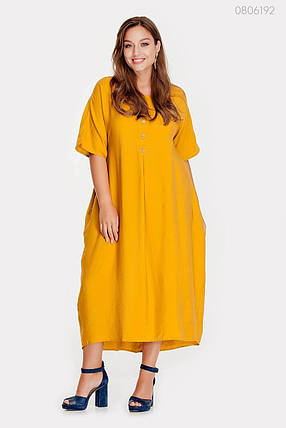 Платье Альбукерке - 1 (горчица) 0806192, фото 2