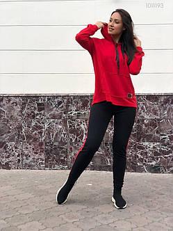 Модный женский спортивный костюм из джерси 48, 50, 52, фото 2