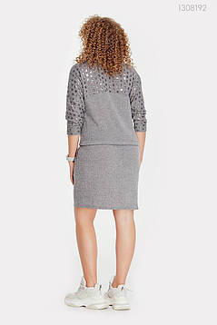 Платье Астория (серый) 1308192, фото 2