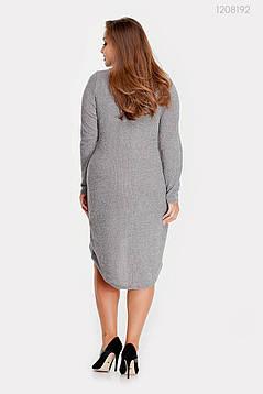 Платье Эвора (серый) 1208192, фото 2