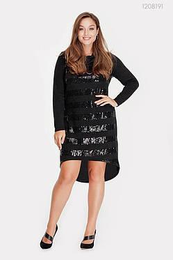 Платье Эвора (чёрный) 1208191, фото 2