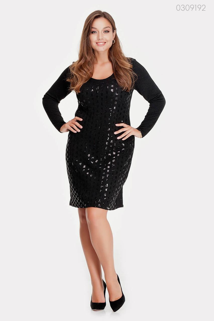 Платье Бордо (чёрный) 0309192