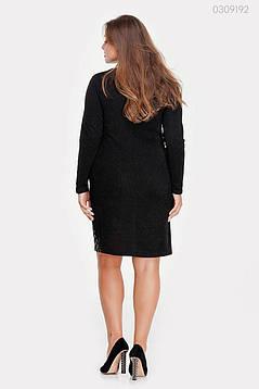 Платье Бордо (чёрный) 0309192, фото 2