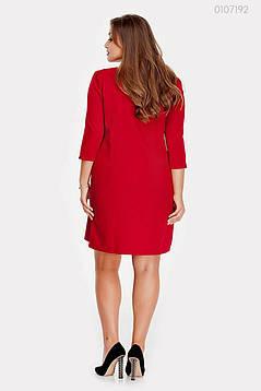 Платье Касабланка - 1 (марсала) 0107192, фото 2