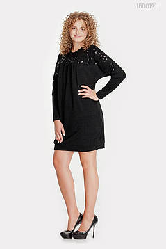 Платье Кальте (чёрный) 1808191, фото 2