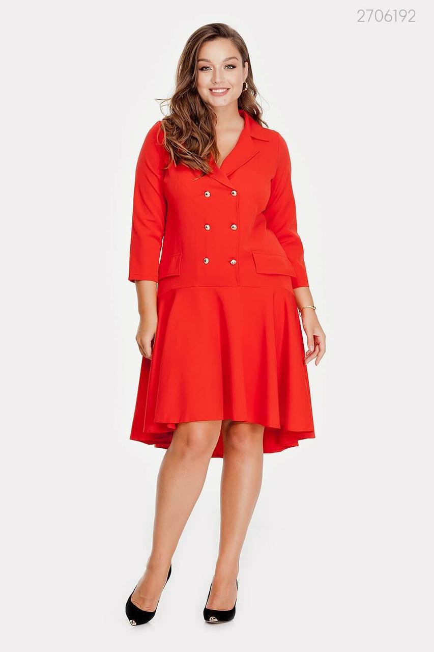 Платье Аскона (алый) 2706192