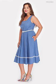 Платье Анхель-1 (джинсовый) 1903183, фото 2