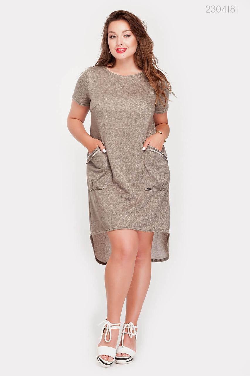 Платье Сан-Диего-1 (оливковый) 2304181