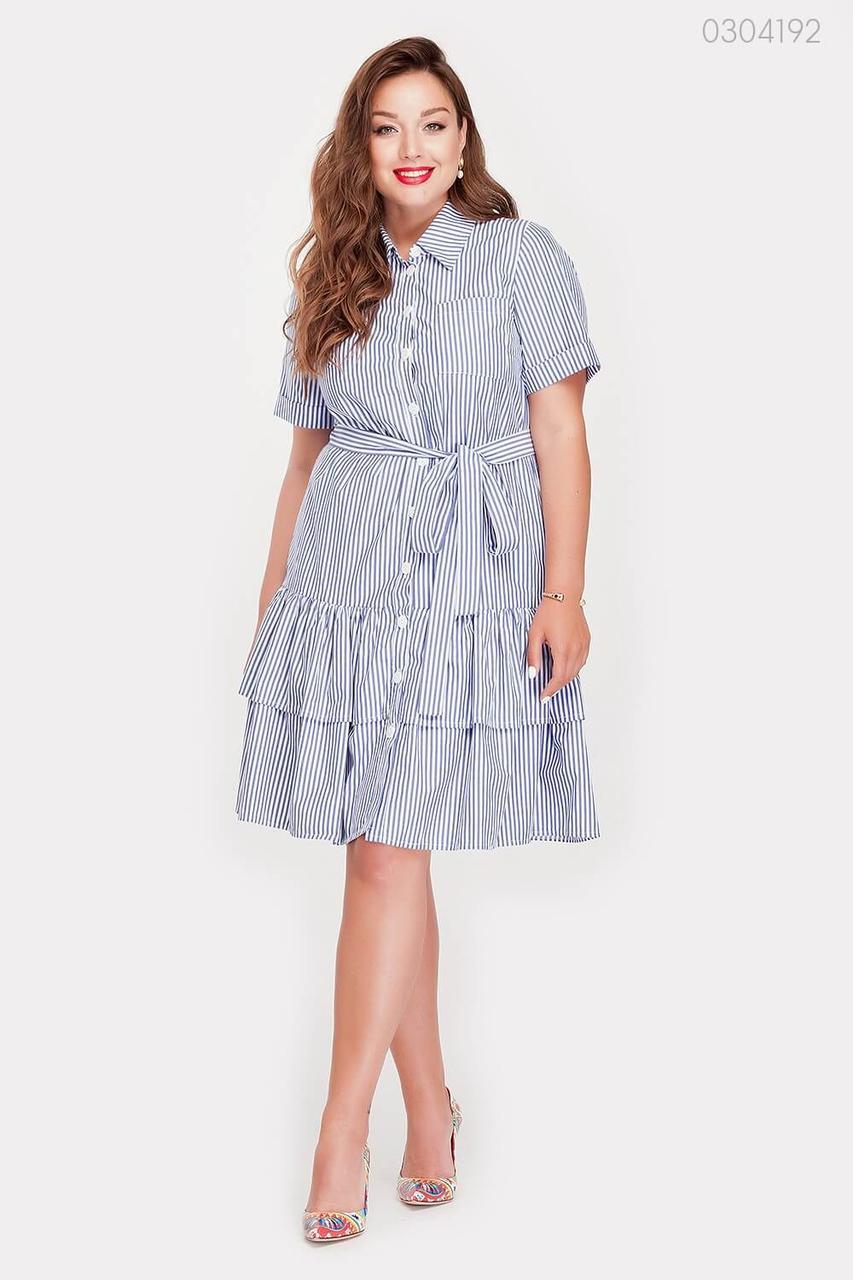 Платье Карачи (синий) 0304192