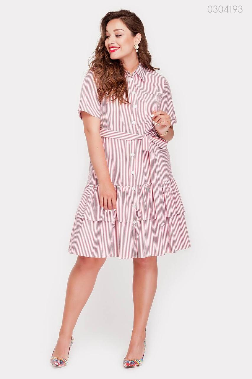 Платье Карачи (бордовый) 0304193