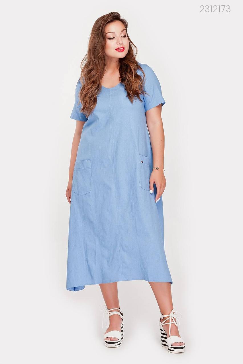 Платье Огаста (голубой) 2312173