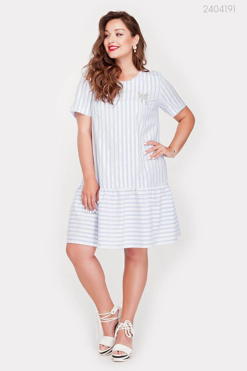 Платье Пуатье (голубой) 2404191