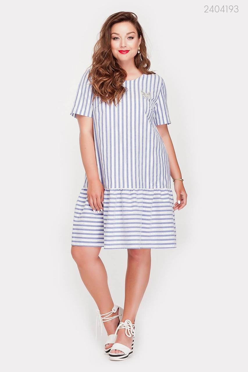 Платье Пуатье (синий) 2404193