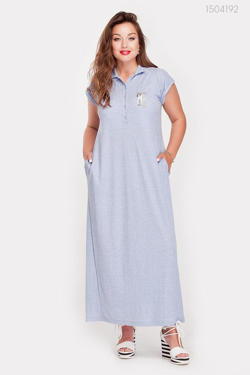 Платье Намибия (голубой) 1504192