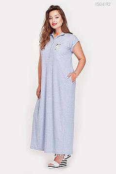 Платье Намибия (голубой) 1504192, фото 2