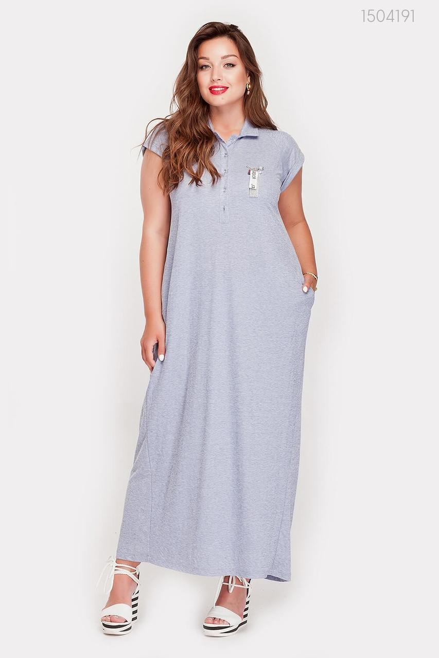 Платье Намибия (серый) 1504191