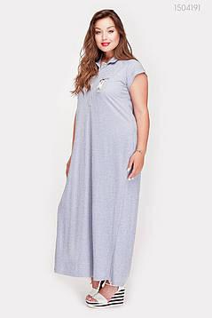 Платье Намибия (серый) 1504191, фото 2