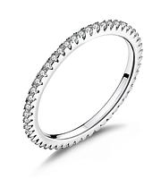 Кольцо серебряное женское для помолвки Тиффани стайл WOSTU Стерлинговое серебро 925