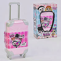 Кукла ЛОЛ с волосами в чемодане / аналог