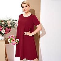 Женское трикотажное платье 8385 (50-64)