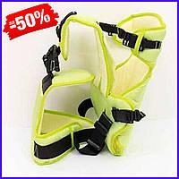 Рюкзак кенгуру №12 для новорожденных, рюкзак переноска для детей слинг, сумка для малыша кенгуру салатовый