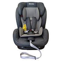 Детское универсальное автокресло для детей от 9 месяцев Welldon Encore Isofix Серое (BS07-TT95-001)