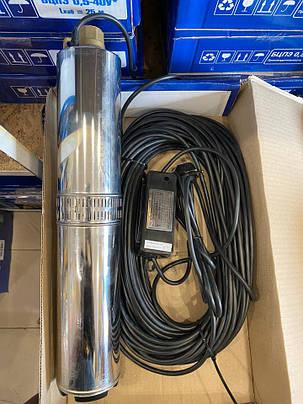 Погружной насос Водолей  БЦПЭУ 0,5 - 63У внутренний кабель БЕСПЛАТНАЯ ДОСТАВКА, фото 2