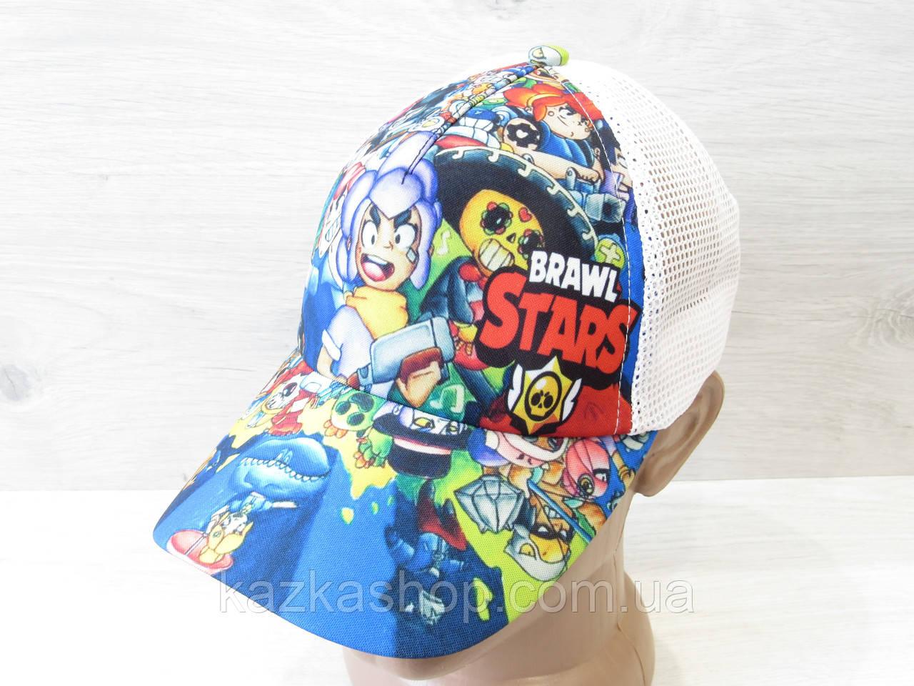 Підліткова кепка, бейсболка, накат, коттон, сітка, розмір 53-54, регулятор