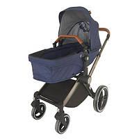 Детская универсальная коляска на больших колесах Welldon 2 в 1 Синяя (WD007-3)