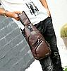 """Мужская сумка на грудь, мини-рюкзак """"Jeremy Brown"""""""